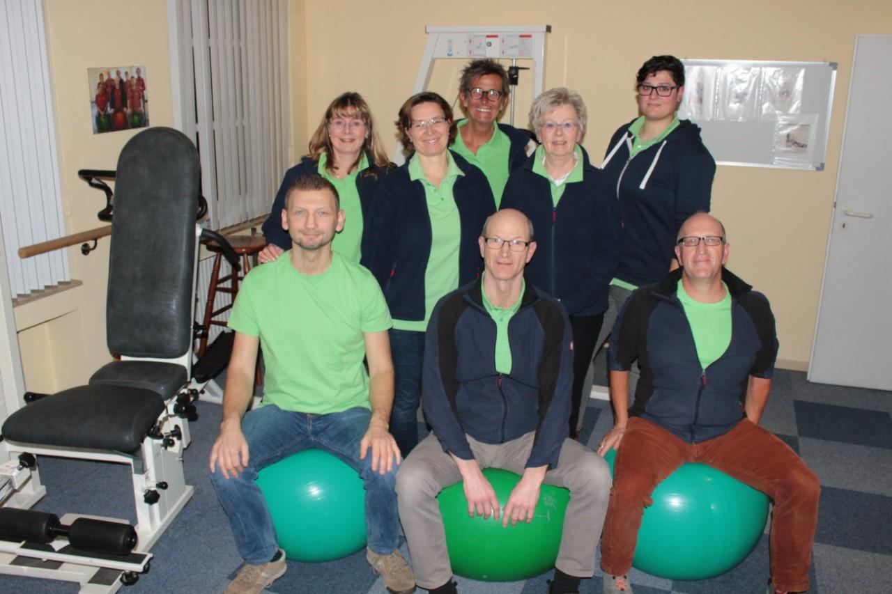 Team - Physiotherapie van Rooij in 47441 Moers